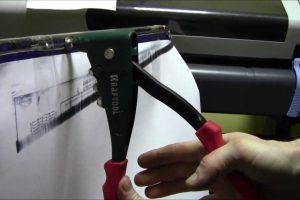 Как пользоваться заклепочником – правила работы с инструментом